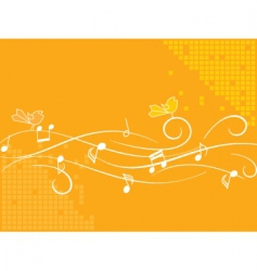 birds and music vector image vector image