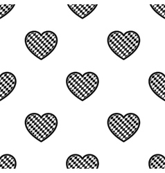 Oktoberfest heart icon in black style isolated on vector
