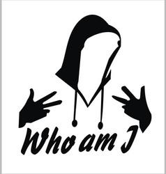Anonymous hoodie vector