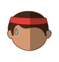 avatar boy icon vector image