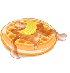 Belgium waffles vector