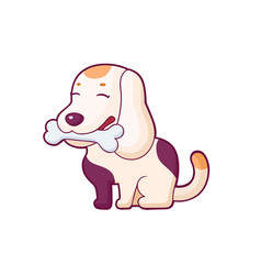 Cartoon style sticker vector