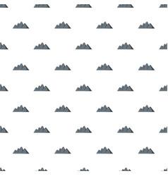 Europe mountain pattern seamless vector