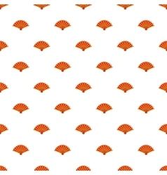Fan pattern cartoon style vector image