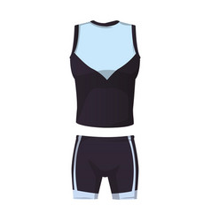 Fitness sport clothes vector