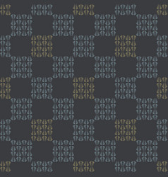 gray abstract chequered grid seamless vector image