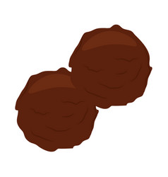 Meatballs icon image vector