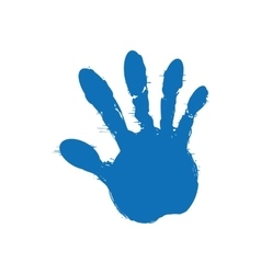 Paint icon Human hand design graphic vector