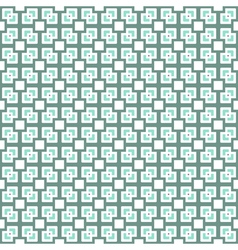 Squares and crosses abstract geometric seamless vector
