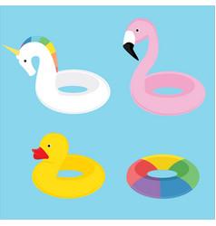 Swim summer ring vector