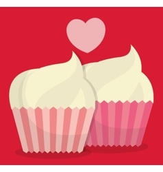 valentines day themed image vector image