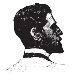 saint gaudens vintage vector image vector image