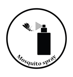Mosquito spray icon vector