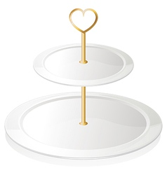 A cupcake tray vector