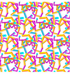 abstract geometric seamless gradient pattern vector image