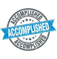 Accomplished vector