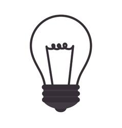 bulb power energy vector image