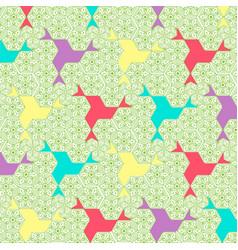Colorful abstract mandala pattern design vector