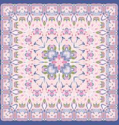 delicate colored handkerchief vector image