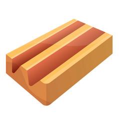 Orange gum icon cartoon style vector