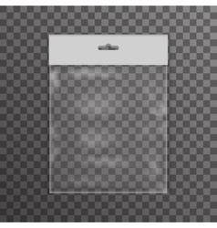 Plastic bag icon transparent background vector image