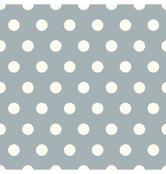 Seamless polka dot pattern background vector