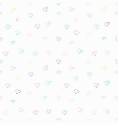 Tender sentiment beautiful love pattern vector