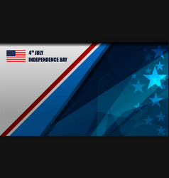 usa background template vector image