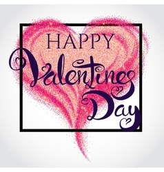Valentines day card 1 vector image