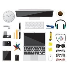 Business concept Flat design vector image