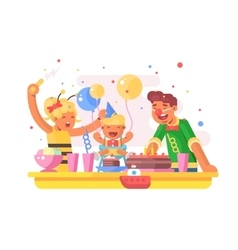 Children birthday party vector image vector image