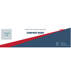 cover of a company with a rising arrow vector image