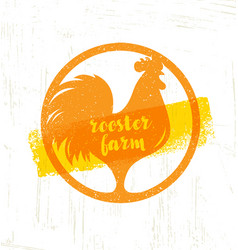 Organic farm fresh healthy food eco concept vector