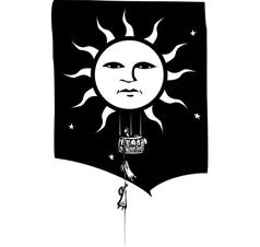 Sun Balloon vector image vector image