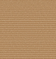 Abstract brown cardboard texture background vector image