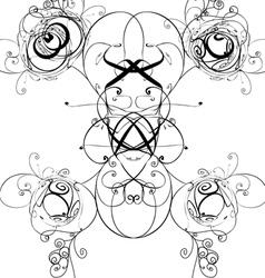Abstract Diagram vector