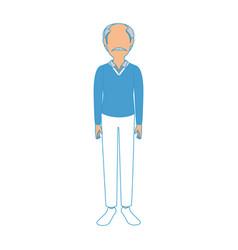 Adult man avatar vector