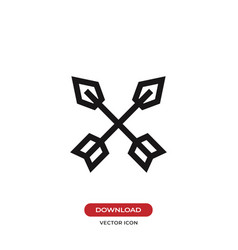 arrows icon vector image