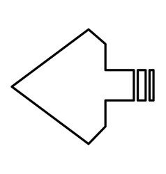 arrows next vector image