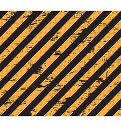 Caution grunge line vector