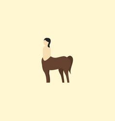centaur icon flat element of vector image