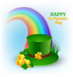 for celebration st patricks day vector image