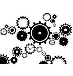 Gears clockwork vector