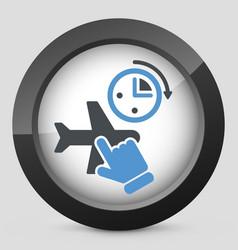 last minute ticket vector image