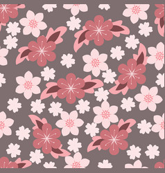 sweet flower floral background vector image