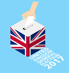 United kingdom general election 2017 vector