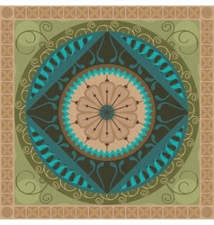 Vegetal Mandala vector