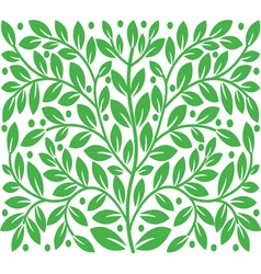 Background of leaves vector image vector image