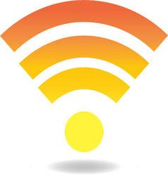 Wi-fi vector image