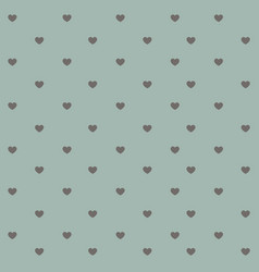 Abstract heart seamless pattern background hand vector